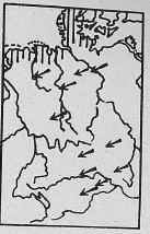Verbreitung Fischotter - DJN (1994) - Peter Boye - Heimische Säugetiere