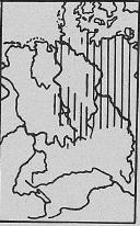 Verbreitung Brandmaus - DJN (1994) - Peter Boye - Heimische Säugetiere