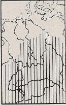 Verbreitung Feldspitzmaus - DJN (1994) - Peter Boye - Heimische Säugetiere