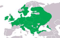 Verbreitung des Teichmolchs - Achim Raschka (CC BY-SA 3.0)