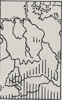 Verbreitung Alpenspitzmaus - DJN (1994) - Peter Boye - Heimische Säugetiere