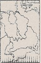 Verbreitung Alpenfledermaus - DJN (1994) - Peter Boye - Heimische Säugetiere