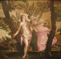 Apollo and Daphne by Veronese, San Diego Museum of Art.JPG