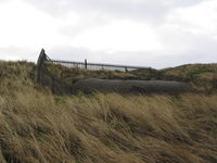 2003-05 Sylt - Remains of WW2 bunker (closeup).jpg