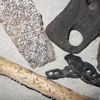Bohrlöcher in Holz & Torf