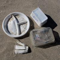Plastikbecher, Plastikbesteck, Einwegschüsseln