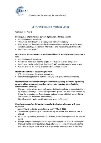 File:CETAF Digitisation Working Group Workplan for Oct 2014-Sep 2015.pdf
